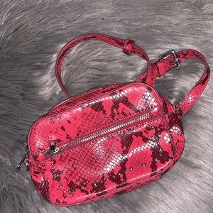 Red Fanny Pack Bag